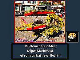 diaporama pps Combat naval fleuri à Villefranche-sur-Mer