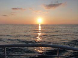 diaporama pps Coucher du soleil sur la mer Égée