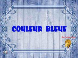 diaporama pps Couleur bleue