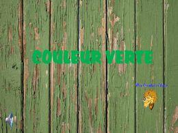 diaporama pps Couleur verte