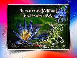 diaporama pps Création de fleurs avec Photoshop