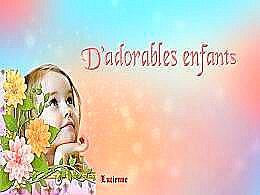 diaporama pps D'adorables enfants
