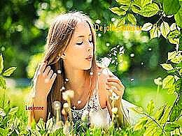 diaporama pps De jolies filles et les fleurs