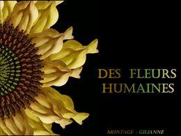 diaporama pps Des fleurs humaines