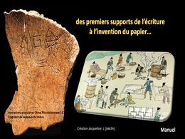 diaporama pps Supports de l'écriture – Invention du papier