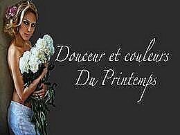 diaporama pps Douceur et couleurs du printemps