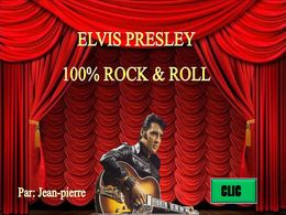 diaporama pps Elvis Presley 100% rock & roll
