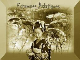 diaporama pps Estampes asiatiques