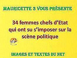 diaporama pps Femmes chefs d'état qui ont su s'imposer