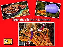 diaporama pps Fête du citron à Menton