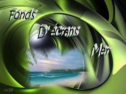 diaporama pps Fonds d'écrans mer