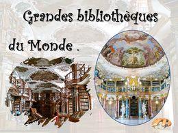 diaporama pps Grandes bibliothèques du monde