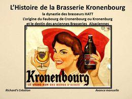 diaporama pps Histoire de la brasserie de Kronenbourg