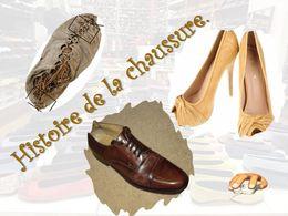 diaporama pps Histoire de la chaussure