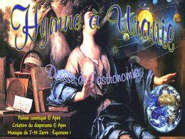 diaporama pps Hymne à Uranie