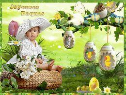 diaporama pps Joyeuses pâques les enfants