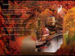 diaporama pps L'automne avec quelques belles poésies
