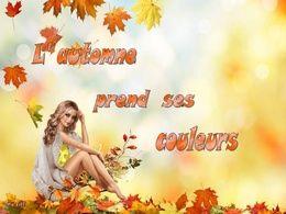 diaporama pps L'automne prend ses couleurs