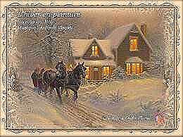 diaporama pps L'hiver en peinture