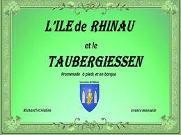 diaporama pps Île de Rhinau et le Taubergiessen