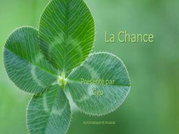 diaporama pps La chance