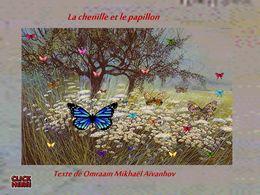 diaporama pps La chenille et le papillon