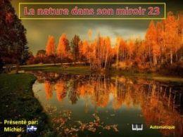 diaporama pps La nature dans son miroir 23