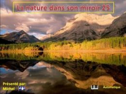 diaporama pps La nature dans son miroir 25