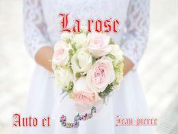 diaporama pps La rose