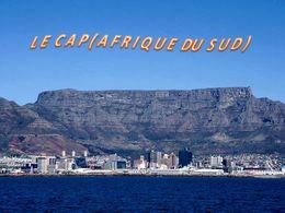 diaporama pps Le Cap – Afrique du Sud