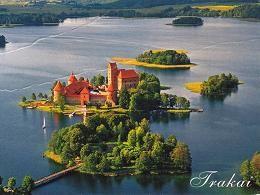 diaporama pps Le château de Trakai