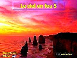 diaporama pps Le ciel en feu 5