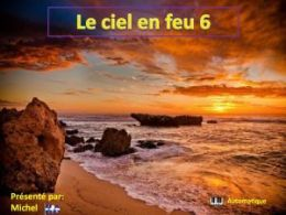 diaporama pps Le ciel en feu 6