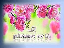 diaporama pps Le printemps est là