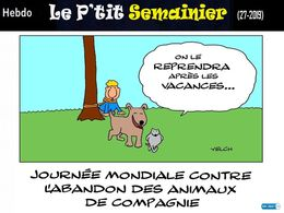 diaporama pps Le p'tit semainier 27 2019