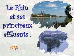 diaporama pps Le Rhin