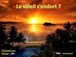 diaporama pps Le soleil s'endort 7