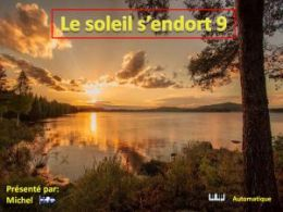 diaporama pps Le soleil s'endort 9