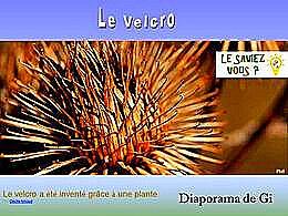 diaporama pps Le velcro