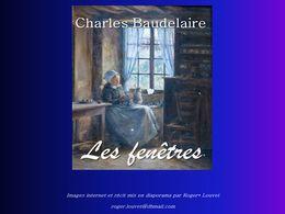 diaporama pps Les fenêtres Charles Baudelaire