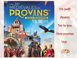 diaporama pps Les médiévales de Provins