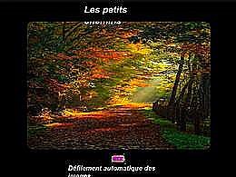 diaporama pps Les petits chemins