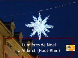diaporama pps Lumières de Noël à Altkirch – Haut-Rhin