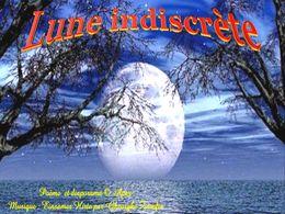 diaporama pps Lune indiscrète
