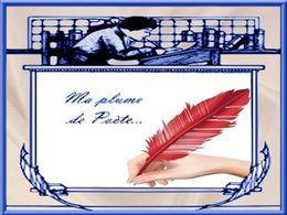 diaporama pps Ma plume de poète