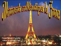 diaporama pps Monuments emblématiques de France