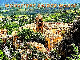diaporama pps Moustiers-Sainte-Marie