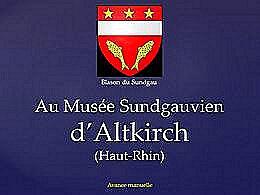 diaporama pps Musée d'Altkirch – Haut-Rhin