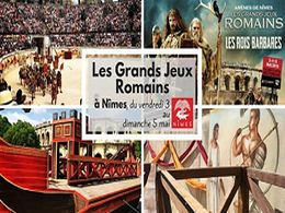diaporama pps Nîmes les rois barbares