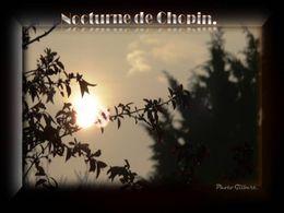 diaporama pps Nocturne de Chopin